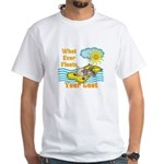 Float Your Goat White T-Shirt