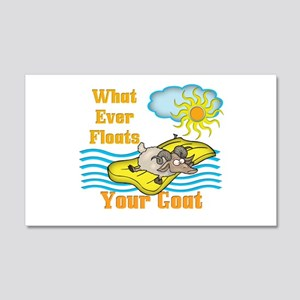 Float Your Goat 20x12 Wall Decal