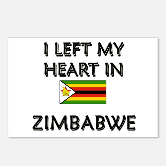 I Left My Heart In Zimbabwe Postcards (Package of