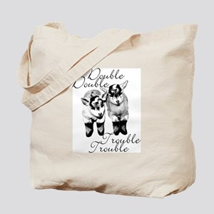 Baby Pygmy Goats Double Trouble Tote Bag