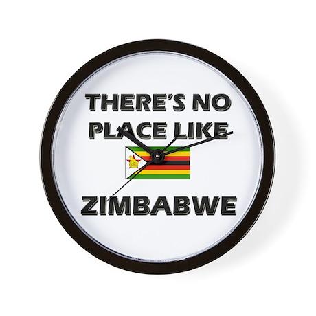There Is No Place Like Zimbabwe Wall Clock