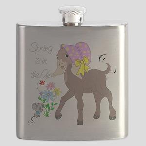 Baby Nubian Goat Flask