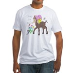 Baby Nubian Goat Fitted T-Shirt