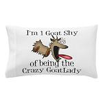 Crazy Goat Lady Pillow Case