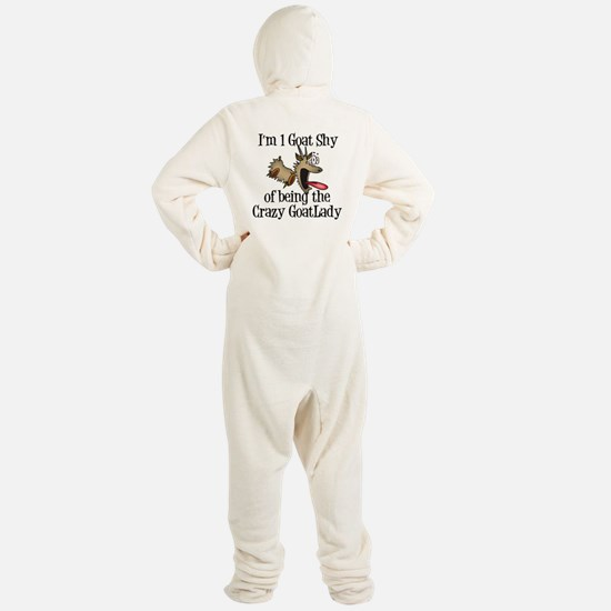 Crazy Goat Lady Footed Pajamas