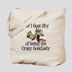 Crazy Goat Lady Tote Bag