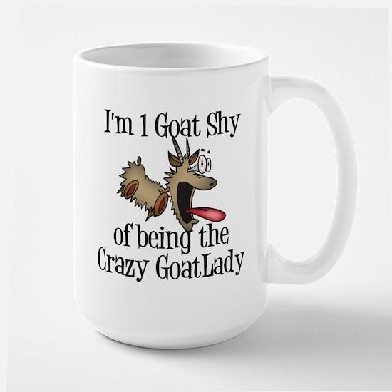 Crazy Goat Lady Large Mug