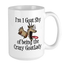 Crazy Goat Lady Large Mug