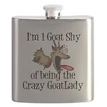 Crazy Goat Lady Flask