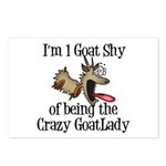 Crazy Goat Lady Postcards (Package of 8)