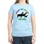 Color my World with Goats Women's Light T-Shirt