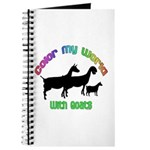 Color my World with Goats Journal