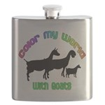 Color my World with Goats Flask