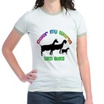 Color my World with Goats Jr. Ringer T-Shirt