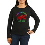 Color my World with Goats Women's Long Sleeve Dark