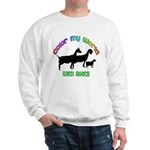 Color my World with Goats Sweatshirt