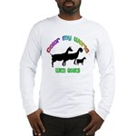 Color my World with Goats Long Sleeve T-Shirt