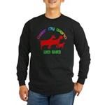 Color my World with Goats Long Sleeve Dark T-Shirt