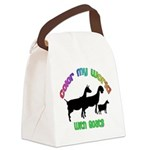 Color my World with Goats Canvas Lunch Bag