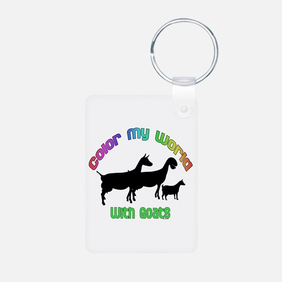 Color my World with Goats Keychains