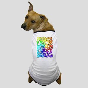 PeaceLovePuppyDogs2Tie-Dye Dog T-Shirt