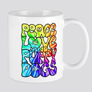 PeaceLovePuppyDogs2Tie-Dye Mug