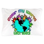 Color my World with Goats 2 Pillow Case