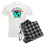 Color my World with Goats 2 Men's Light Pajamas