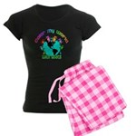 Color my World with Goats 2 Women's Dark Pajamas