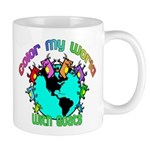 Color my World with Goats 2 Mug