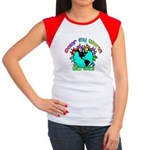 Color my World with Goats 2 Women's Cap Sleeve T-S