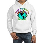 Color my World with Goats 2 Hooded Sweatshirt