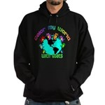 Color my World with Goats 2 Hoodie (dark)