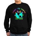 Color my World with Goats 2 Sweatshirt (dark)