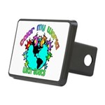 Color my World with Goats 2 Rectangular Hitch Cove