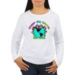Color my World with Goats 2 Women's Long Sleeve T-