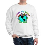 Color my World with Goats 2 Sweatshirt