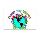 Color my World with Goats 2 20x12 Wall Decal