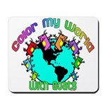 Color my World with Goats 2 Mousepad