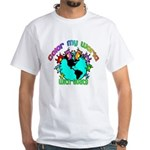 Color my World with Goats 2 White T-Shirt