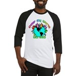 Color my World with Goats 2 Baseball Jersey