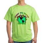 Color my World with Goats 2 Green T-Shirt