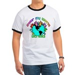 Color my World with Goats 2 Ringer T