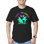 Color my World with Goats 2 Men's Fitted T-Shirt (