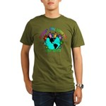 Color my World with Goats 2 Organic Men's T-Shirt