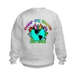 Color my World with Goats 2 Kids Sweatshirt