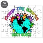Color my World with Goats 2 Puzzle