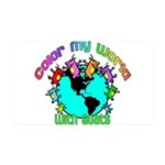 Color my World with Goats 2 35x21 Wall Decal