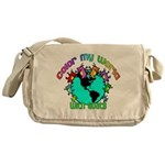 Color my World with Goats 2 Messenger Bag