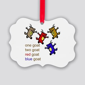 One Goat, Two Goat, Red Goat, Blue Goat Picture Or